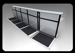 Counters/Barriers in Plain Mesh Colour
